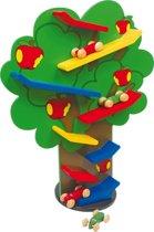 Houten puzzel - Waterval boom - Laat de auto's racen! - Kinderpuzzel vanaf 18 maanden