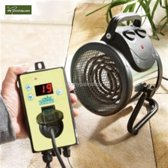 Kasverwarming- Elektrische ventilator kachel ''Palma 2kW'' (Thermostat Digital)