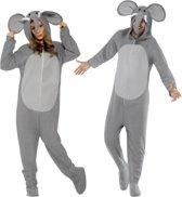 Onesie olifant voor volwassenen 42-52 (l)