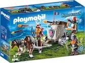 PLAYMOBIL Mobiele ballista met ponys en dwergen - 9341