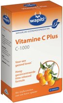 Wapiti Vitamine C Plus 1000 mg - 45 Tabletten - Vitaminen