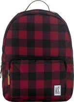The Pack Society Rugzak - Black / Red Checks