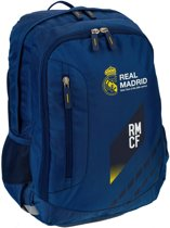 Real Madrid Rugzak Luxe Blauw 21 L