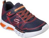 Skechers Flex Glow Jongens Sneakers - Blauw - Maat 32
