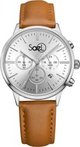 Sael Palm Silver (leather)