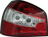 AutoStyle Set Achterlichten Audi A3 8L 1996-2003 - Rood/Helder