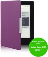Smart magnetische flip hoes Kobo Aura H20 Editie 1 paars