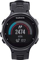 Garmin Forerunner 735XT black grey - GPS multisporthorloge met polshartslag meting en HRM-triathlon en HRM-Swim- band - Ø 44.5 mm - zwart/grijs