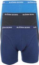 Björn Borg Boxers Basic 3-pack Heren - Blauw - S