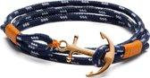 S Armband (lengte:16.50-18.00 cm) T0111