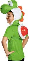Yoshi Nintendo® set voor kinderen - Verkleedkleding - One Size