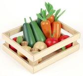 Tidlo houten kratje met groente