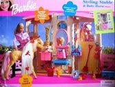 Barbie Kapschuur Speelset en Babypaardje
