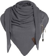 Knit Factory Lola Omslagdoek Med Grey