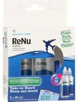 BAUSCH LOMB Renu Multiplus Flight Pack 2 x 60 ml