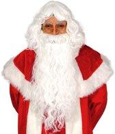 Kerstman Baard en Pruik Deluxe