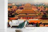 Fotobehang vinyl - De verboden stad van Jingshan Park breedte 390 cm x hoogte 260 cm - Foto print op behang (in 7 formaten beschikbaar)
