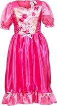 Prinses Cyrina jurk, roze (5-7 jaar) 110/122
