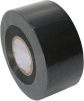 RL  - 7 PVC soft(vloer)tape 38mm. x 33m. Zwart