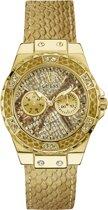 GUESS Watches -  W0775L13 -  Horloge -  Vrouwen -  RVS - Goudkleurig -  39  mm
