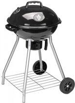 Nesling Houtskoolbarbecue - 45 cm - Zwart