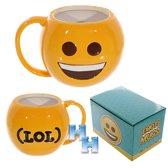 Emoticon-Emoji- Smiley-Beker-Mok-