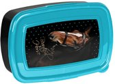 Animal Pictures My beautiful horse - Lunchbox - 18,5 x 13 cm - zwart