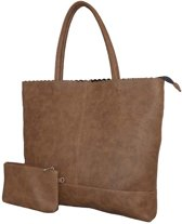 Beagles-Ademus dames shopper bruin