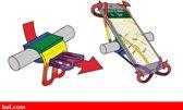 OTG strap multicolor telefoonhouder