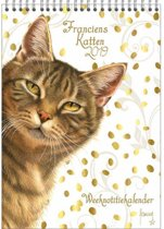 Franciens Katten WEEKnotitiekalender 'Gold'
