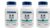 X-R Shield, 90 Vegetarian Capsules, 3-pack