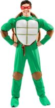 Teenage Mutant Ninja Turtle - Carnavalskleding - Maat L - Groen