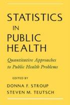 Statistics in Public Health
