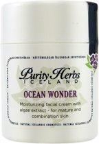 Ocean Wonder- 100 % natuurlijke dag- en nachtcrème met Algen en IJslandse kruiden - 50ml