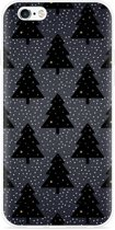 iPhone 6/6S Hoesje Snowy Christmas Trees
