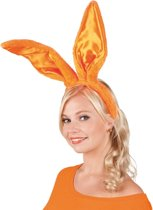 24 stuks: Tiara Bunny ears - Oranje