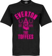Everton Established T-Shirt - Zwart - XL