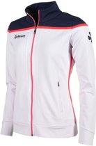 Reece Varsity Stretched Fit Jacket Fz Ladies Sportjas Dames - Wit