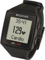 Sigma hartslagmeter ID.LIFE - horloge - kleur zwart