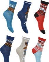 6 paar sokken Paw Patrol maat 31/34