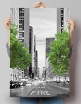 REINDERS New York Trees - Poster - 61x91,5cm