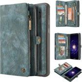 CaseMe Luxury Wallet Case Blauw Samsung Galaxy S8