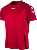 hummel Authentic Tee Sportshirt Kinderen - Rood