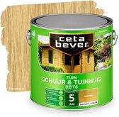 CetaBever Tuin Schuur & Tuinhuis Beits - Transparant - 077 Grenen - 2,5 liter