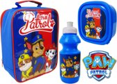 PAW PATROL Lunch Set Broodtrommel Drinkbeker Lunchtas
