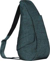 Healthy Back Bag Textured Nylon Small Metallic Twill 19213-TL