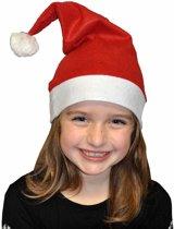 2x Voordelige kerstmutsen voor kinderen