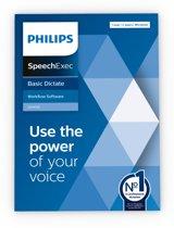 Philips SpeechExec Basic Dictate-software 11 LFH4722, abonnement voor 2 jaar