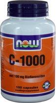 Now C-1000 met 100 mg Bioflavonoïden - 100 Capsules - Vitaminen