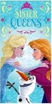 Disney Frozen Sister queens - Badhanddoek - 140x70 cm - Multi